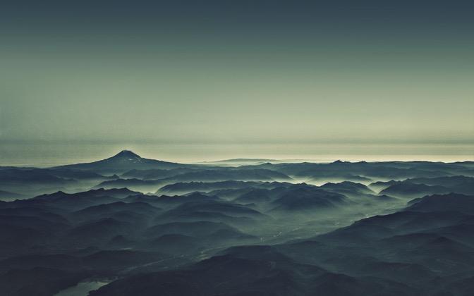 High-resolution desktop wallpaper Morning Mist by dan taylr