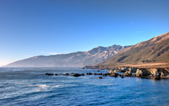 High-resolution desktop wallpaper Pacific Valley Big Sur by bfisher
