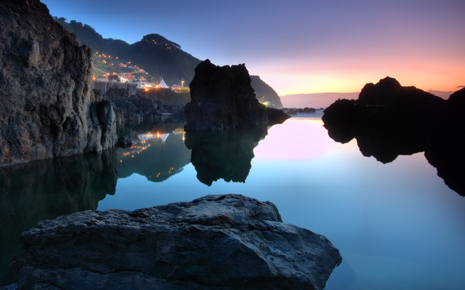 High-resolution desktop wallpaper Porto Moniz by MasterChief