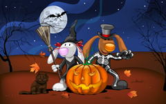 High-resolution desktop wallpaper Happy Halloween! by Julia Nikolaeva