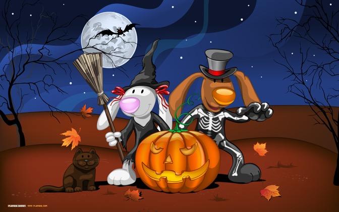 High-resolution desktop wallpaper Happy Halloween! by Julia Nikolaeva