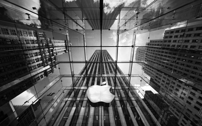 High-resolution desktop wallpaper Apple in the Big Apple by Philipp Klinger