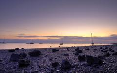 High-resolution desktop wallpaper Purple Sunset... by onis_uk