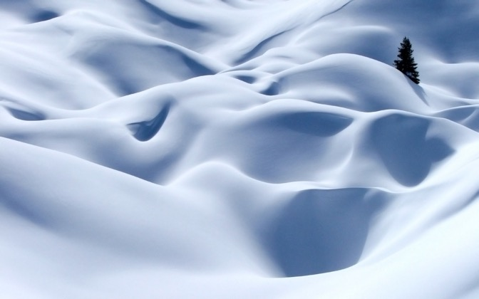 High-resolution desktop wallpaper Snow Blind by Mathias NEVIERE