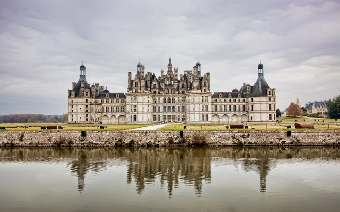 High-resolution desktop wallpaper Castle - Chambord, France by Jordan M.