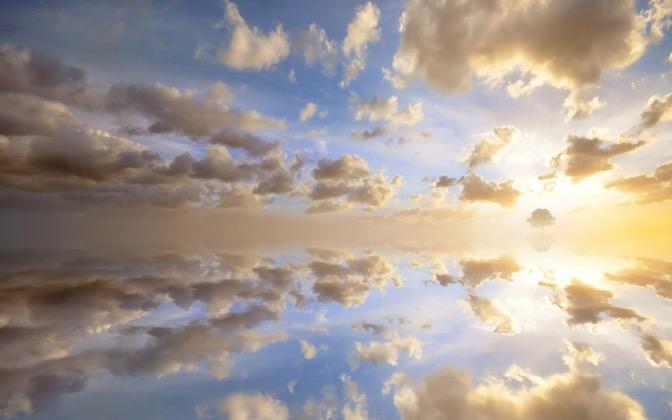 High-resolution desktop wallpaper In Heaven by Dominic Kamp