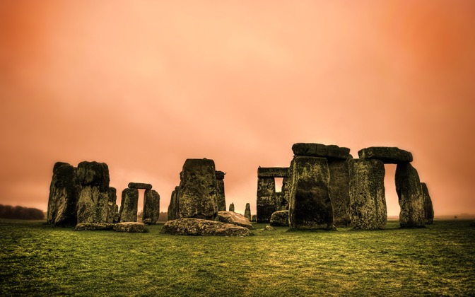 High-resolution desktop wallpaper Stonehenge by onis_uk