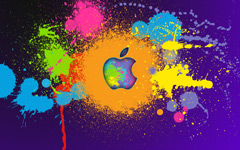 High-resolution desktop wallpaper Apple iPad by Recounter