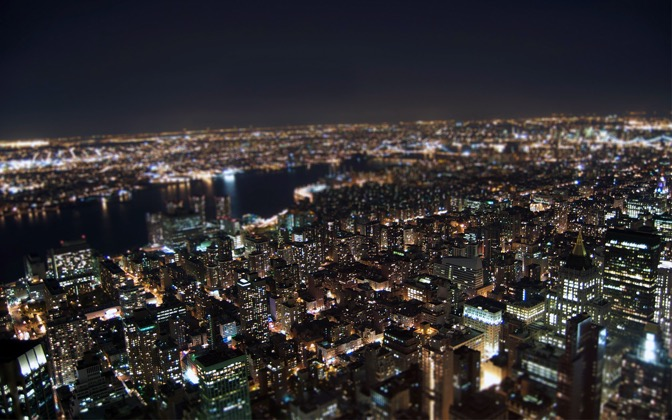 High-resolution desktop wallpaper New York by spendavis