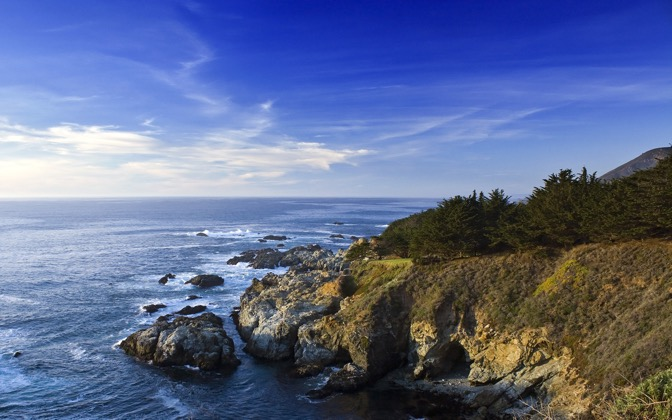 High-resolution desktop wallpaper California Coast by joshuarjs