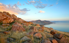 High-resolution desktop wallpaper Antelope Island State Park by Jayson Ross