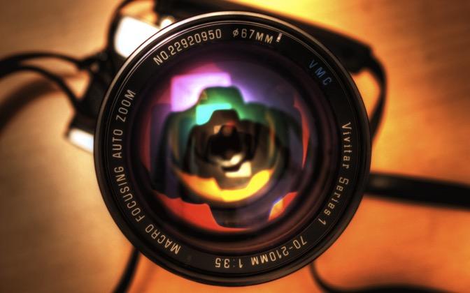 High-resolution desktop wallpaper Minolta SRT 101b by therealfish