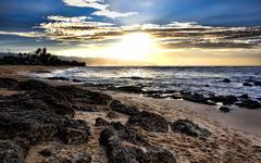 High-resolution desktop wallpaper Laniakea Sunset by Jordan M.