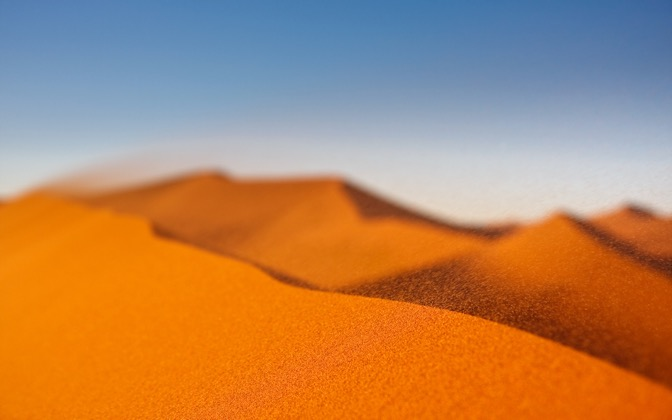 High-resolution desktop wallpaper Windy Dunes by Leon_J