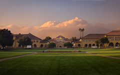 High-resolution desktop wallpaper Stanford at Sunrise by v1rtu0so