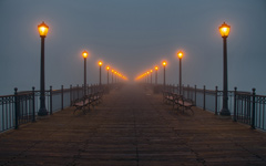 High-resolution desktop wallpaper Pier to Nowhere by TJP__