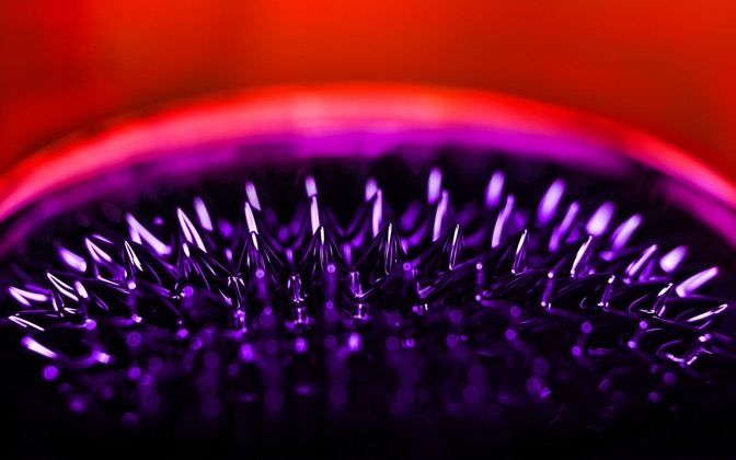 High-resolution desktop wallpaper Ferrofluid by onis_uk