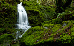 High-resolution desktop wallpaper Camp Meeker Waterfall by Sean Hanlon