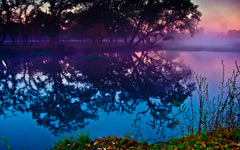 High-resolution desktop wallpaper Sebastopol Lagoon by Sean Hanlon