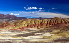 High-resolution desktop wallpaper Oregon's Painted Hills by adairtd