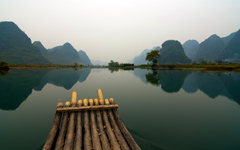 High-resolution desktop wallpaper The Mountains of Guilin by roncc