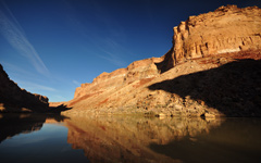 High-resolution desktop wallpaper Grand Canyon Reflections by Travis Lair
