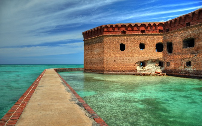 High-resolution desktop wallpaper Fort Jefferson by Tangata Manu