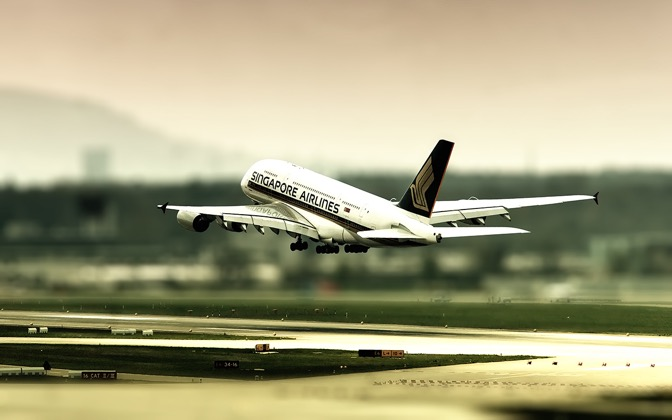 High-resolution desktop wallpaper A380 by mainconcept