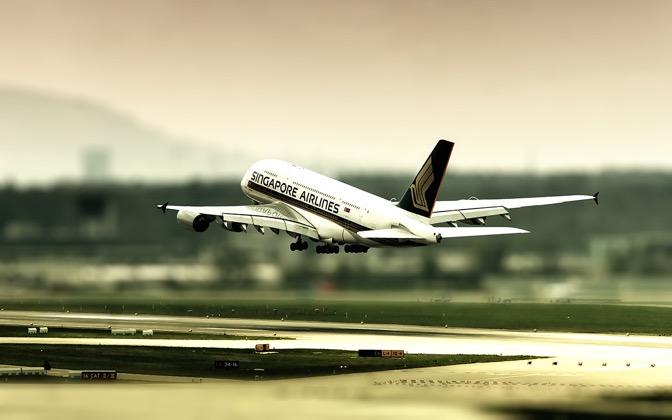 High-resolution desktop wallpaper A380 by mainconcept