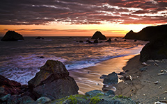High-resolution desktop wallpaper Sonoma Coast by Sean Hanlon