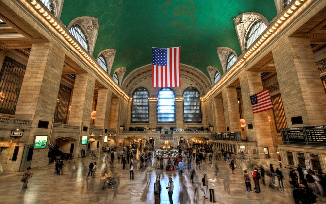 High-resolution desktop wallpaper The Grand Central by Lowe Rehnberg
