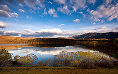 High-resolution desktop wallpaper Lake Hayes by Chris Gin
