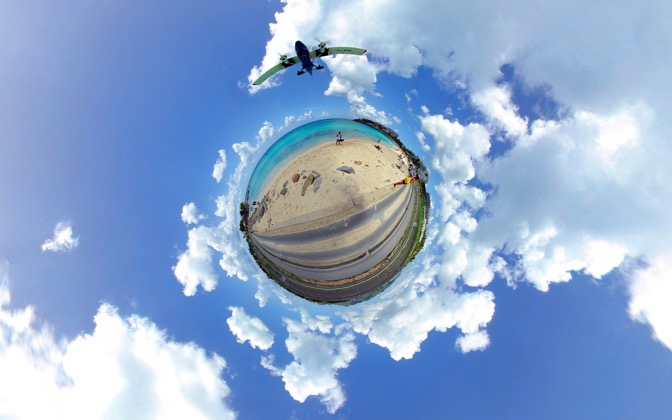 High-resolution desktop wallpaper Little Caribbean Planet by paulz