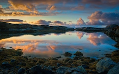 High-resolution desktop wallpaper Norwegian Coast 2 by Egilanso