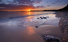 High-resolution desktop wallpaper Kohi Sunrise by Chris Gin