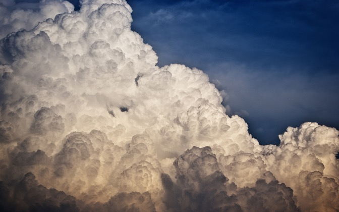 High-resolution desktop wallpaper Dense Clouds by rafik87