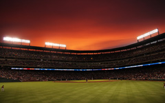 High-resolution desktop wallpaper Rangers Ballpark in Arlington by topherking88
