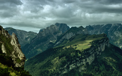 High-resolution desktop wallpaper Alpstein Before Rain by mainconcept