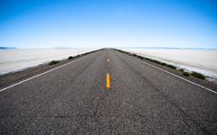 High-resolution desktop wallpaper The Road to Bonneville by Chris F