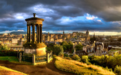 High-resolution desktop wallpaper Calton Hill, Edinburgh by richardsim7