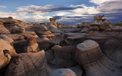 High-resolution desktop wallpaper Bisti Badlands by BenD