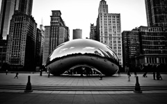 High-resolution desktop wallpaper Millennium Park by birkanyorulmaz