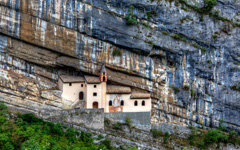 High-resolution desktop wallpaper The Hermitage of St. Columban by Giovanni Di Gregorio