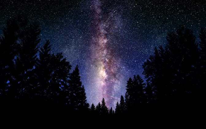 High-resolution desktop wallpaper The Milky Way Galaxy by Dominic Kamp