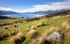 High-resolution desktop wallpaper Mt Nicholas - Queenstown by jordanzander