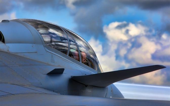 High-resolution desktop wallpaper Jet Cockpit by iamAbhishek