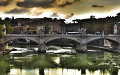 High-resolution desktop wallpaper Ponte Vittorio by Emmanuel Iarussi