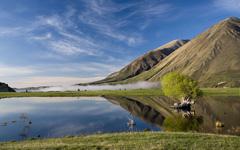 High-resolution desktop wallpaper Lake Coleridge by iamaelephant