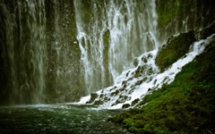 High-resolution desktop wallpaper Burney Falls by Galib Ahmad