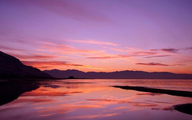 High-resolution desktop wallpaper Stansbury Island - Great Salt Lake by gregp
